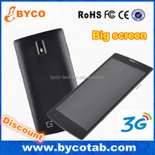 very cheap big screen android phone 3G 1900 smartphone mt6572