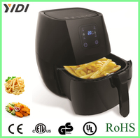 Low Fat Healthy Digital control Air Fryer without oil kitchen Cooker with Rapid Air Circulation System&no oil air deep fryer