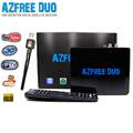 Hot selling AZFREE DUO sks twin tuner receptor iks free with iptv,3G ,wifi for Latin America