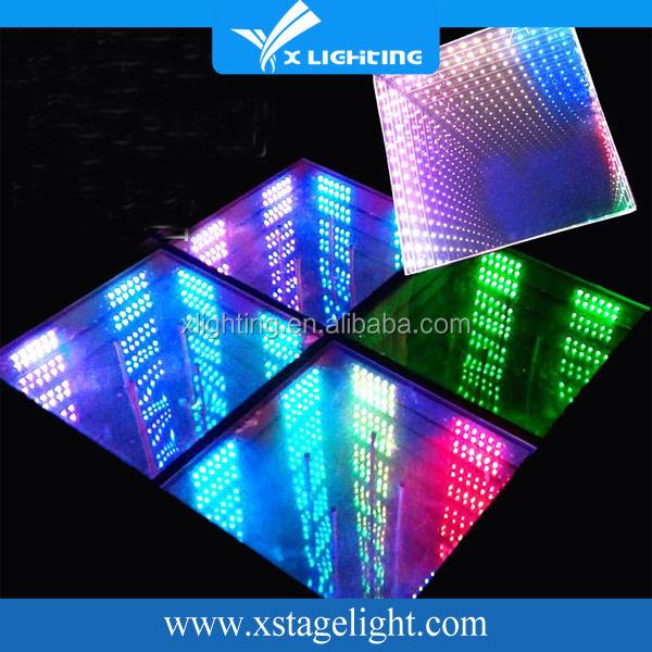X Lighting Wedding Tunnel 3d Infinity Make Led Dance Floor