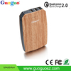 China supplier 3USB portable charger, hot selling unique oem quick charge 2.0 power bank 10000mah