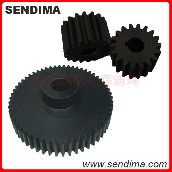 new design engineering plastic precision customized small POM delrin spur gear