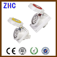 2P+E 3P+E 3P+N+E electric industrial switched plug & socket