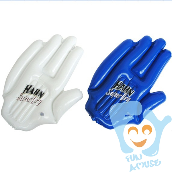 wholesale custom sports fan cheering hand giant inflatable hand