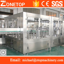 Latest technology automatic 500ml plastic water bottle sealing capping machine price