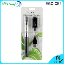 Classic high quality 650/900/1100mAh ego ce4 e cigarette free sample