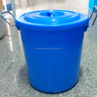 100liter plastic fishing bucket camping buckets water transport bucket