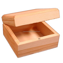 wooden boxes for decorating unfinished raw wood craft boxes with lids and magnetic closure