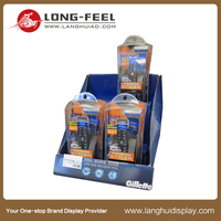 Promotion gift stand pop up cardboard shelf pdq display box
