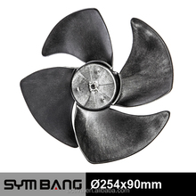 254x90mm plastic air conditioner fan blade (bl254-4b)