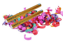 2014 new design and popular factory compressed air confetti wedding streamer party poppers