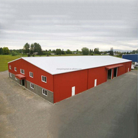 Fast Installation Corrugated Steel Buildings
