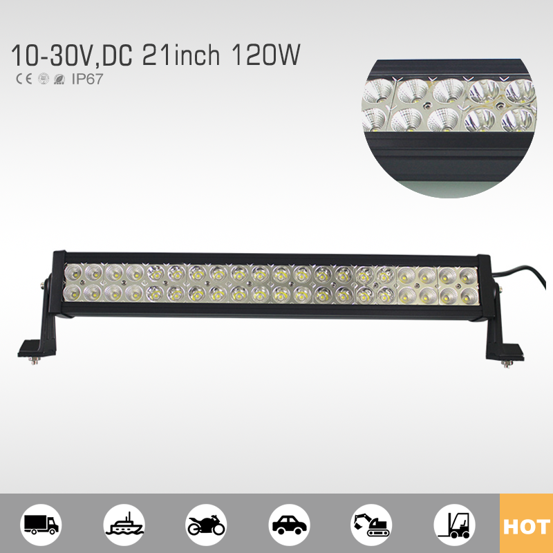 2017 hot style high quality 120w led light bar