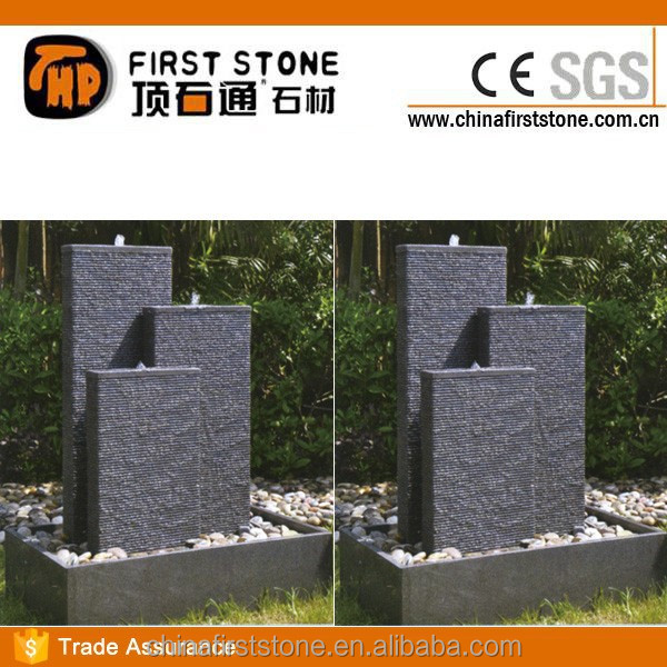 GAF378 Black Granite Water Fountain Parts
