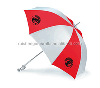 Logo printed clip fishing hat umbrella with holder for fishing boats