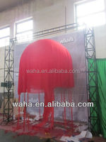 Party Stage wedding decoration Led light inflatable jellyfish