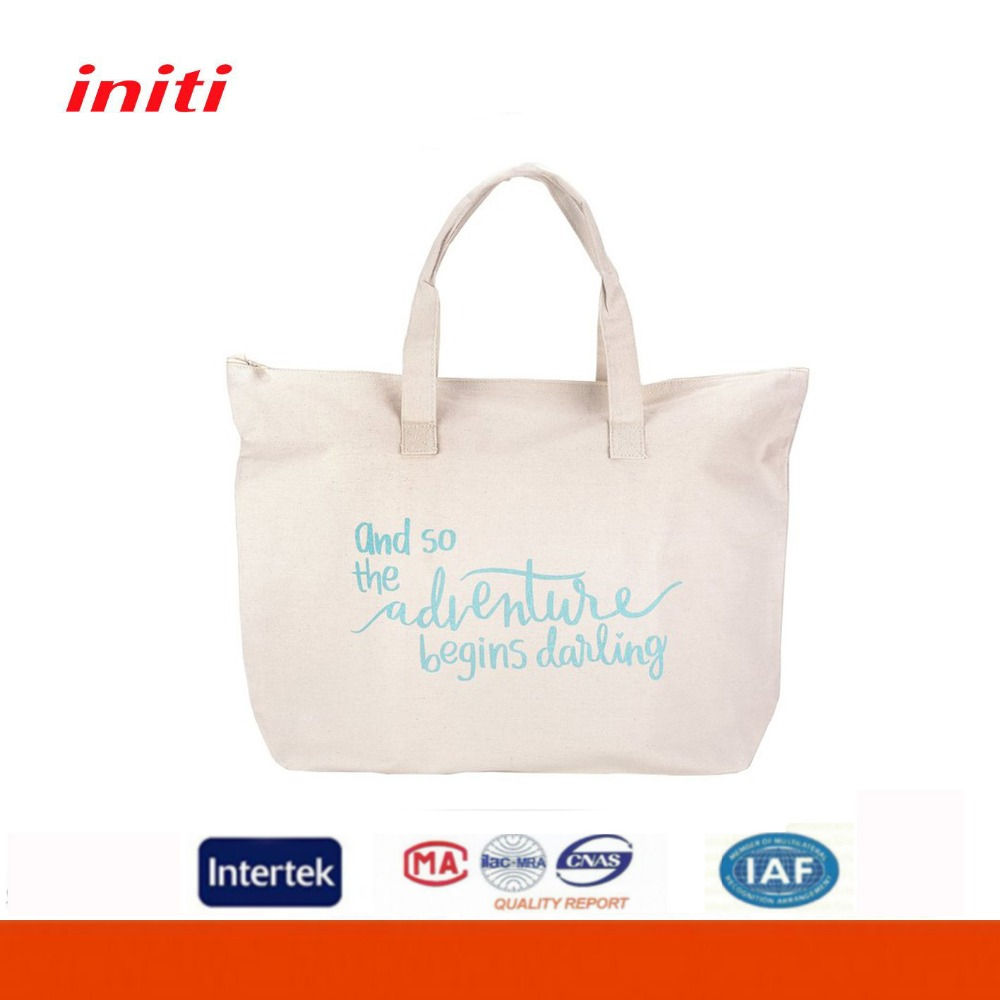 Wholesale customized shopping bag cotton