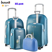 BUBULE business trolley bags sets colourful travel luggage suitcase 5 piece sets with four wheels HL508