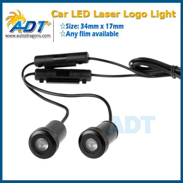 Car Door Light Courtesy Logo Laser Projector Punching Ghost Shadow Lamp Lights for BMW for VW for Honda for Toyota