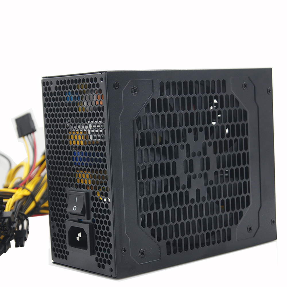 Hot sell psu 1600w power supply for 6 gpu miner graphics card gtx 1080 1070 1060 ti