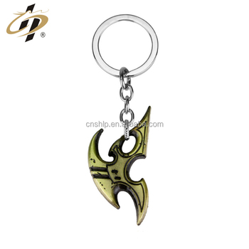 Promotional souvenir custom logo metal custom keychain from china