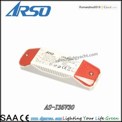 Meanwell 10W 350mA Non dimmable LED power supply constant current LED driver for LED lighting