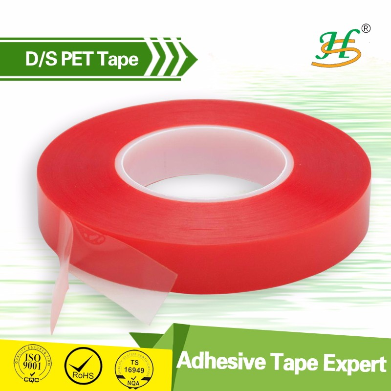Silicone powder coating die cut PET adhesive tape dots