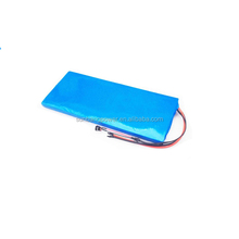 Rechargeable cylindrical 18650 10s4p electric skateboard 36V 11Ah li ion battery pack