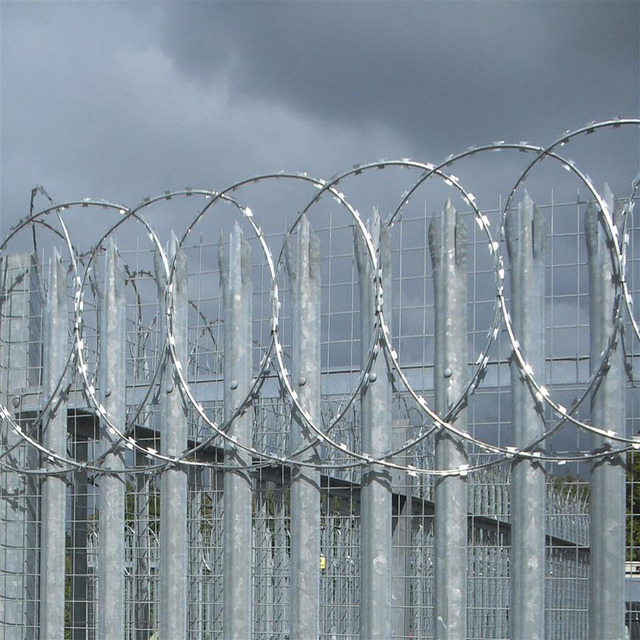 BTO&CBT concertina razor barbed wire for security fence