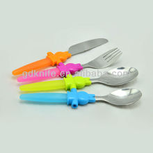 High quality stainless steel children flatware set,children cutlery set
