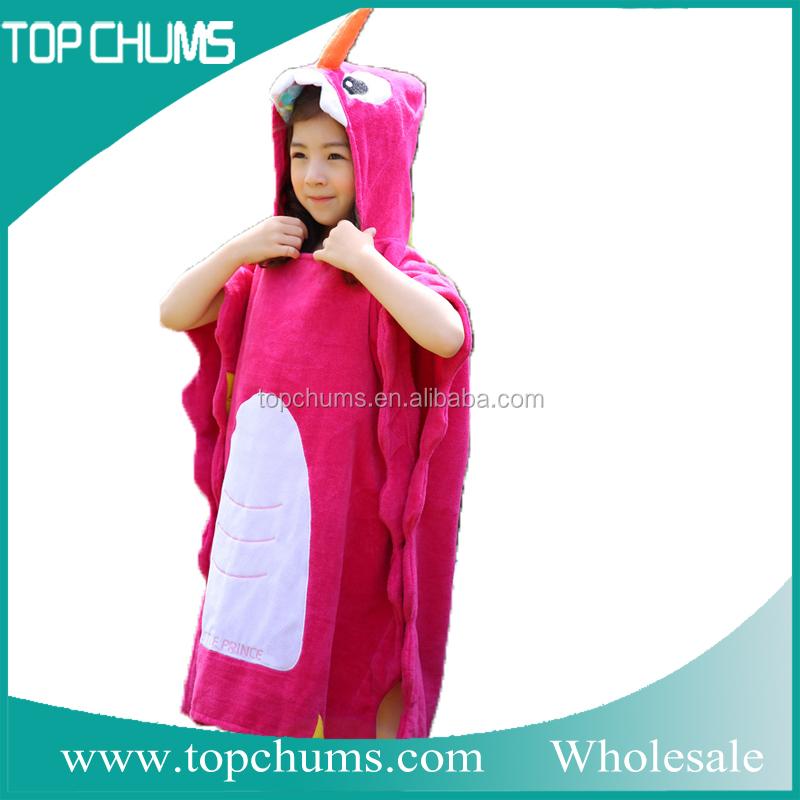 Полотенце-пончо с капюшоном своими руками 10
