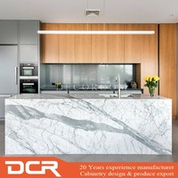 Wholesale Melamine Fiber Kitchen Cabinets Imported from China