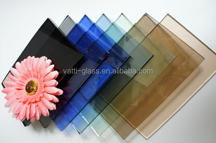 Factory china supplier 3-19mm clear and bronze price float glass with top grade