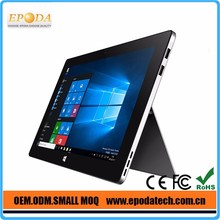 10 Point Capacitive Touch Screen Intel Cherry Trail Z8300 Windows 10 11.6 Inch Tablet with kickstand