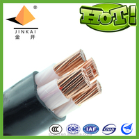 XLPE insulated PVC sheathed power cable YJV4*70+1*35
