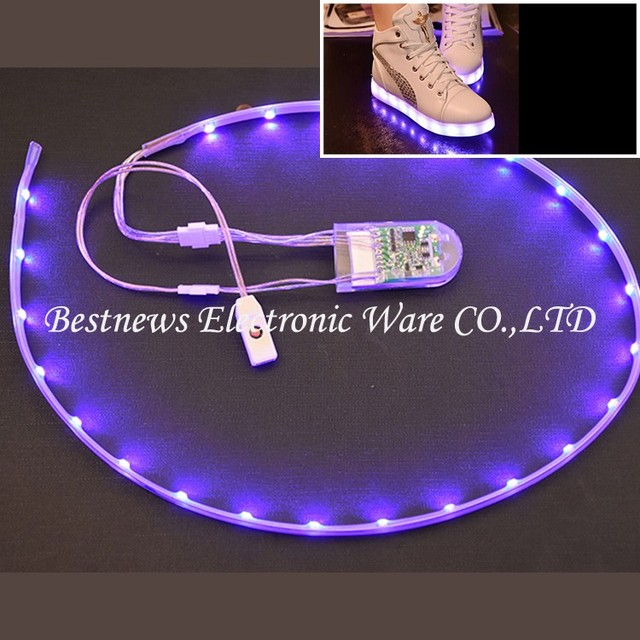 2017 New Gift Item LED Shoes Gift For Dancer Night LED Lights for Shoes Adult LED Light Shoes