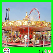 china wholesale high quality colorful carousel models carousel whirligig for sale