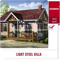 Very cheap light steel villa