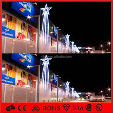 Street decorative project 2014 holiday decoration led motif street light/christmas tree