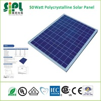 50 Watt Polycrystalline Solar Panel (Smart Home Green Product)