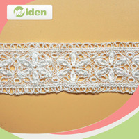 Widentextile flower design fantastic and latest embroidery wholesale french lace for party