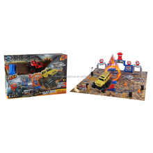 Friction Car Suvs Super Stunt Stadium Toy