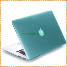 New arrival Crystal Clear Hard Plastic full cover case For MacBook pro 13""