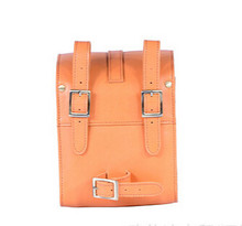 New products hot-sale pu leather bicycle bag for electric bicycle