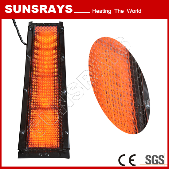 Long wave far infrared Industry ceramic heater