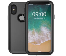 Shock Dirt Snow Proof Cases Armor PC + TPU Cover IP68 Waterproof Case for iPhone X
