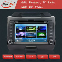 HuiFei KGL-8802 Car DVD Navigation with 3G/BT/3D UI for Kia SPORTAGE
