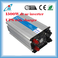 12V/24Vdc to 220Vac 1500W Pure sinus wave solar inverter with battery charger