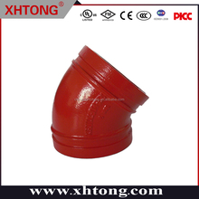 UL LIST CHINA low price SUPPLIER GOOD QUALITY 45 degree elbowS