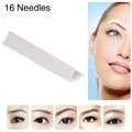 50 PCS CHUSE S21 Permanent Eyebrow Makeup Manual Needle